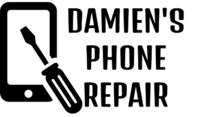 damien's phone repair logo